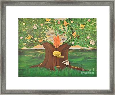 A Dream Fulfilled Framed Print by Michelle Bentham