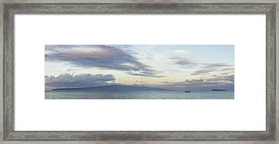 A Dream Within A Dream Framed Print by Brad Scott