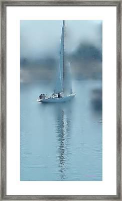 A Dreamy Sail Framed Print by Ethel Rossi