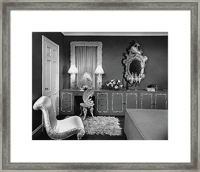 A Dressing Room Framed Print by Emelie Danielson