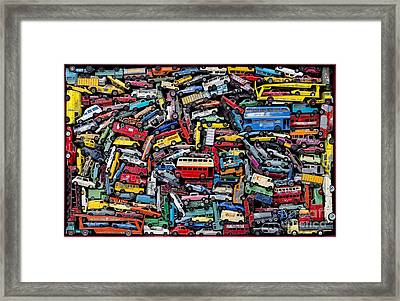 A Drive Down Memory Lane Framed Print by Tim Gainey