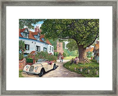 A Drive Out Framed Print by Steve Crisp