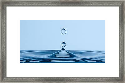 A Drop In The Bucket Framed Print