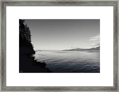 A Drop In The Ocean Framed Print by Lisa Knechtel