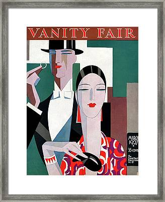A Elegant Couple Framed Print by Eduardo Garcia Benito