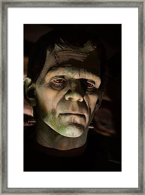 A Face Only..... Framed Print