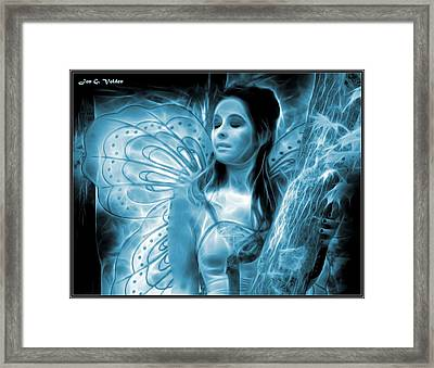 A Fairy Moment Framed Print by Jon Volden