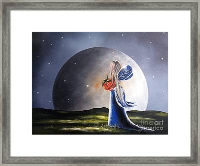 A Fairy Tale By Shawna Erback Framed Print by Shawna Erback