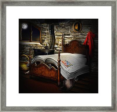 A Fairytale Before Sleep Framed Print by Alessandro Della Pietra