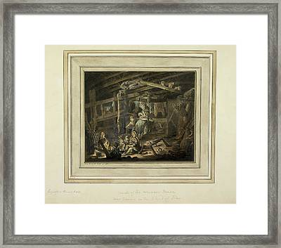 A Family Framed Print by British Library