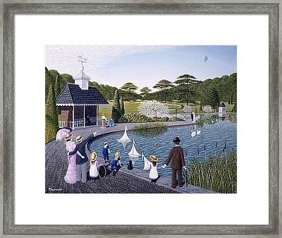 A Family Outing Framed Print