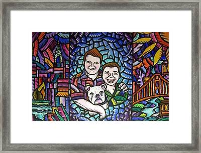 A Family Portrait 2010 Framed Print
