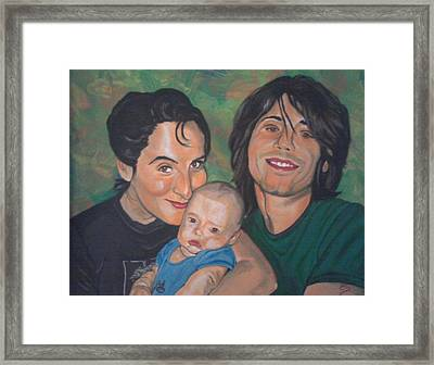 A Family Portrait Framed Print