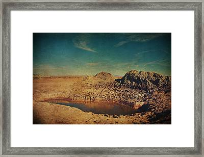 A Far Off Place Framed Print by Laurie Search