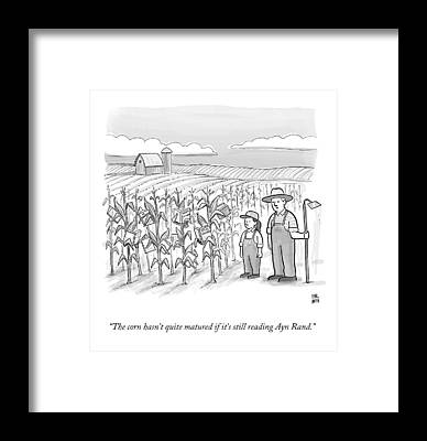 Ayn Rand Framed Prints