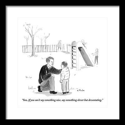 Advice Framed Prints