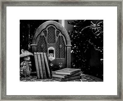 A Father's Garden Retreat Framed Print by Kaleidoscopik Photography