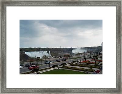 Framed Print featuring the photograph A Favorite Walkway by Barbara McDevitt