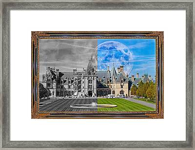 A Feeling Of Past And Present Framed Print by Betsy Knapp