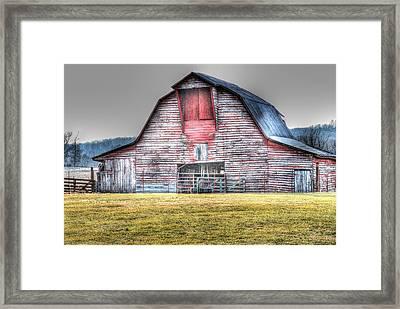 A Fine Barn Framed Print