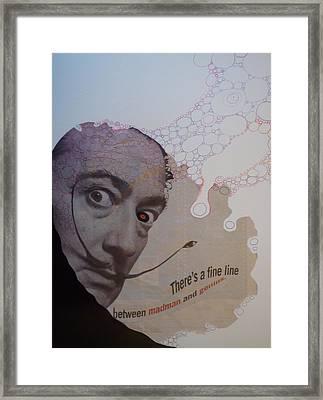 A Fine Line Framed Print