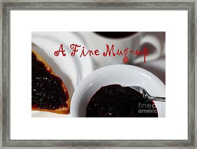 A Fine Mug-up Framed Print by Barbara Griffin