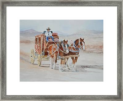 A Fine Ride II Framed Print