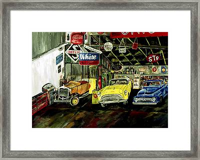 A Fine Time  Framed Print by Mark Moore
