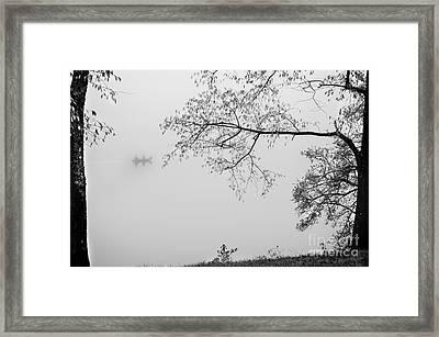 A Fisherman's Morning Framed Print by Stephanie Emond