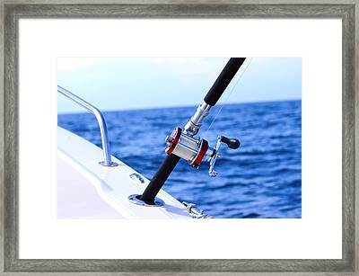 A Fishing Rod  Framed Print by Tommytechno Sweden