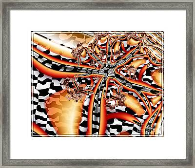 A Flair For The Dramatic 2 Framed Print