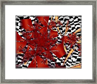 A Flair For The Dramatic Framed Print by Michelle H