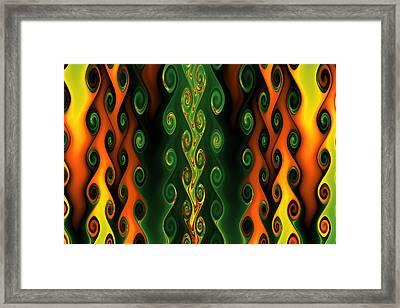 A Flow Of Gnarls Framed Print