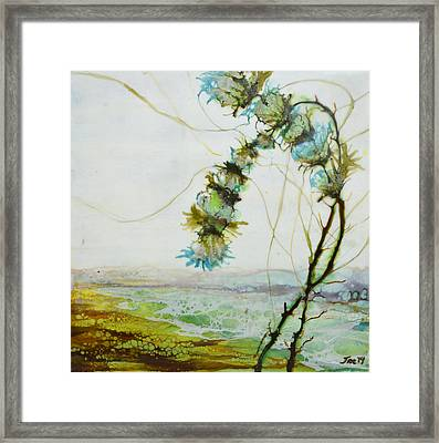 A Flower Dance Framed Print