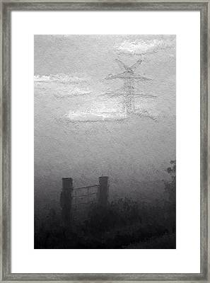 A Foggy Day Framed Print by Steve K