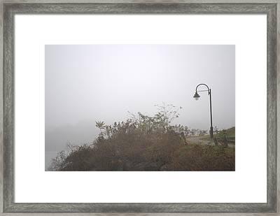 A Foggy Morning Framed Print