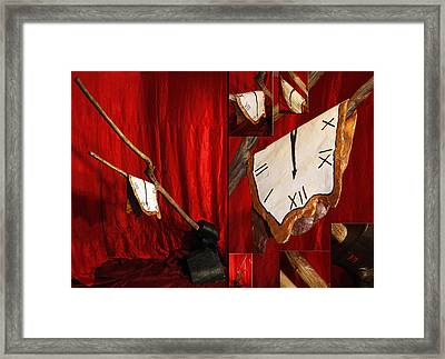 A Fragment Of Time Framed Print