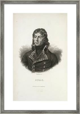 A French General Framed Print by British Library