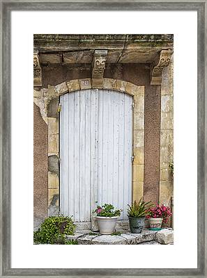 A French Sunday Afternoon Framed Print