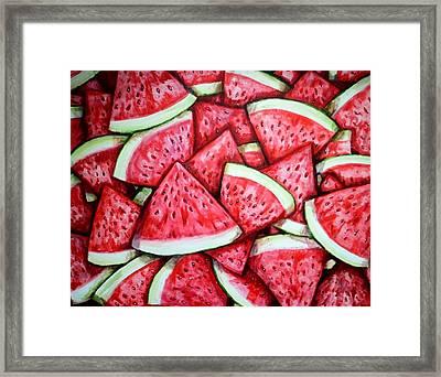 A Fresh Summer 2 Framed Print by Shana Rowe Jackson