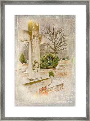 A Friend Missed Framed Print by Dan Carmichael