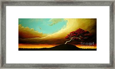 A Fundamental Element Of Fire Framed Print
