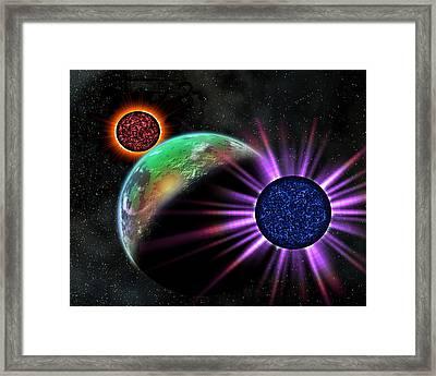 A Galaxy Far Far Away Framed Print