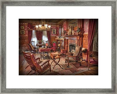 A Game Of Chess Framed Print