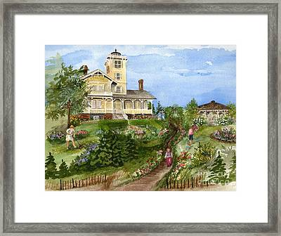 A Garden For All Ages Framed Print