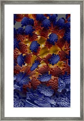 Framed Print featuring the digital art A Garden In The Afterlife by Steed Edwards