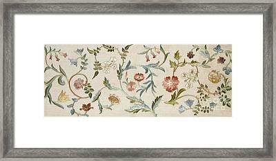 A Garden Piece Framed Print by May Morris