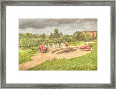 A Gathering Of Friends Framed Print