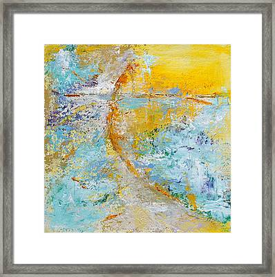 A Gentle Convergence Framed Print by Mary Sullivan