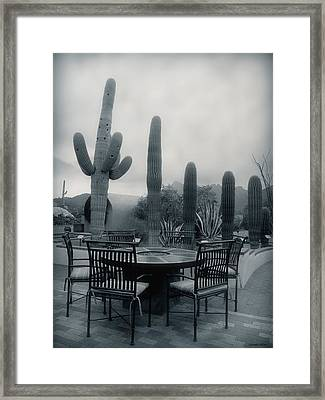 A Gentle Winter Rain Framed Print